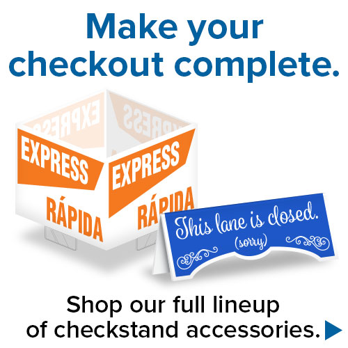 Checkstand Accessories Promo Image