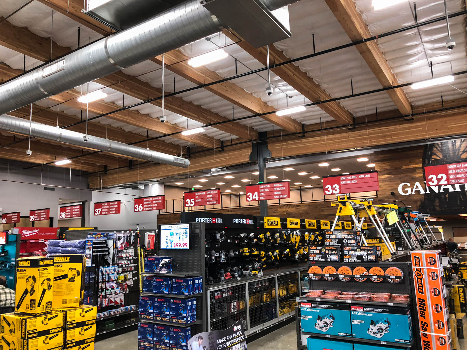 Ganahl Lumber Photo - Aisle Overview